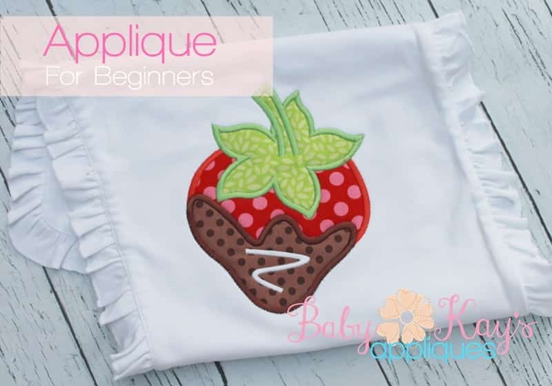 Applique For Beginners A Step By Step Guide Baby Kays Appliques